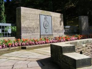 Ja seal oli ka monument erinevates sõdades osalenud Šoti sõduritele